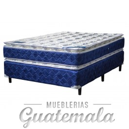 Doble Pillow Top Semi Ortopedica Semi-Matrimonial
