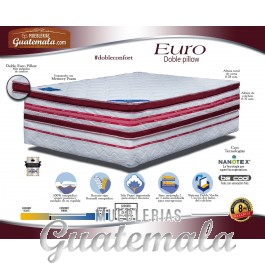 Euro Doble Pillow Matrimonial