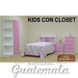 Recamara Kids Con Closet