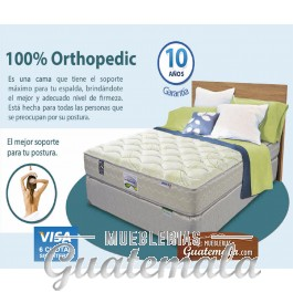 Therapedic 100% Orthopedic King