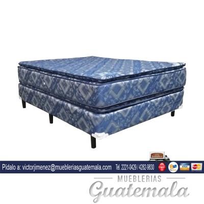Cama Jackard Doble Pillow Matrimonial