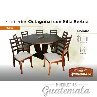 Comedor octagonal