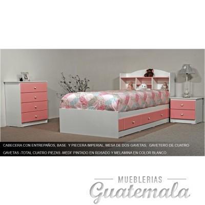 Recámara Infantil Rosa - 7331-00066