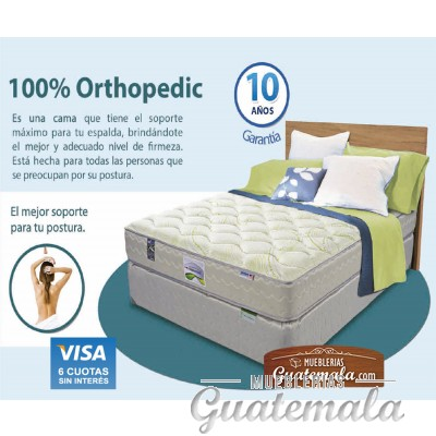 Therapedic 100% Orthopedic Queen