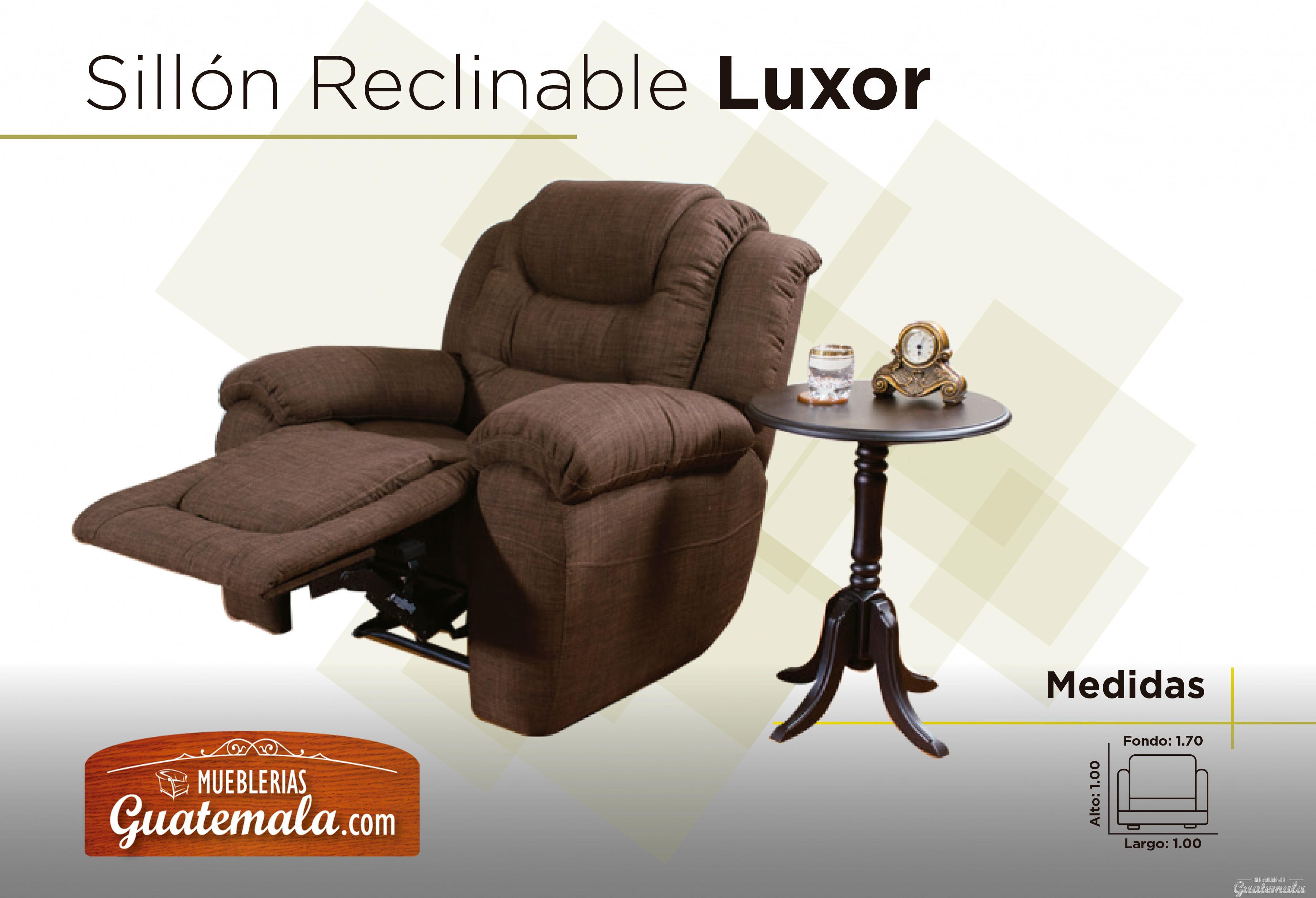 Sill n reclinable luxor for Sillon reclinable