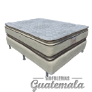 ORTOPEDICA Doble Pillow Top de Lujo PIQUE -Imperial
