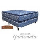Cama ORTOPEDICA Doble Pillow Top  JACKARD -Matrimonial