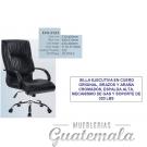 Silla Ejecutiva en Cuero Original 7332-00003