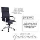 Silla Ejecutiva en Cuero PU Negro 7332-00019