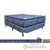 Cama Jackard Doble Pillow Queen