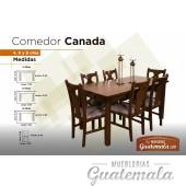 Comedor Canada 4/P