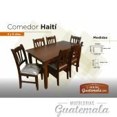 Comedor Haití de 6 sillas 7329-00081