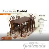Comedor Madrid de 6 silas