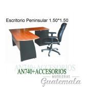 Escritorio Peninsular 7332-00100