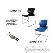 Silla de Espera Negro y/o Azul 7332-00045