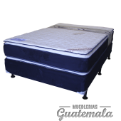 Cama ORTOPEDICA Doble Pillow Top de Lujo PIQUE -King Size 7325-00024