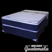 Cama ORTOPEDICA Doble Pillow Top de Lujo PIQUE -King Size 7325-00024