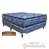 Cama ORTOPEDICA Doble Pillow Top JACKARD - King Size
