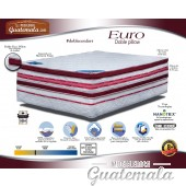 Cama Euro Doble Pilow Matrimonial