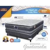 Extraflex Doble Pillow Matrimonial
