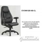 Silla Ejecutiva en Cuero PU  7332-00004