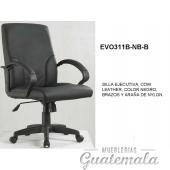 Silla Ejecutiva Color Negro 7332-00001