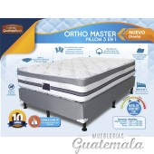 Ortho Master Pillow 3 en 1 Queen