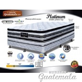 Cama Platinum Doble Pillow Top King