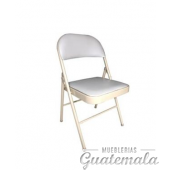 Silla Plegable de Metal  7332-00051